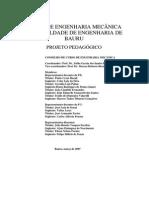 Projeto Pedagogico Mecanica - Projeto Pedagogico Mecanica