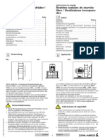 Instrucciones de Montaje Rodetes Radiales