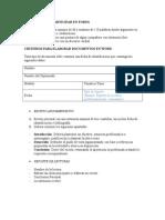 Criterios Para Actividades Del Dems
