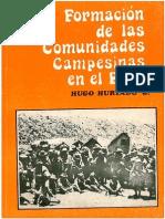 Formación de Las Comunidades Campesinas en El Perú