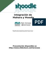 Integracion de Mahara en Moodle