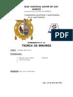 INFORME N° 01 LABO DE MEDIDAS I