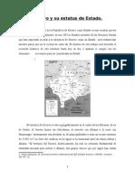 Kosovo y Su Condición de Estado