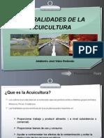 Generalidades de La Acuicultura