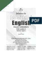 Solutions to Mnm Pow English Vi New