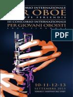 Pieghevole Concorso Oboe 2015