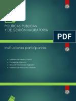 Políticas públicas y de gestión migratoria de la República Dominicana