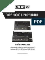 POD HD400 Advanced Guide - Spanish ( Rev a )
