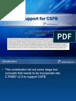 C22-20090615-030 VIA CSFB support