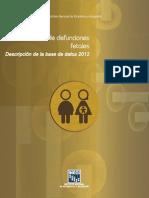 Descripcion BD Fetales 2012