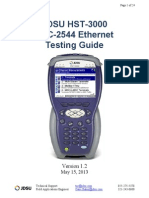 HST-3000 RFC-2544 Ethernet Testing Guide V1.2