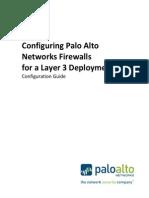 Configuring PAN Firewalls for L3 - 4.0
