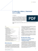 2013. Evaluación Clínica y Funcional de La Rodilla