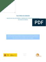 FACTORES DE EMISIÓN