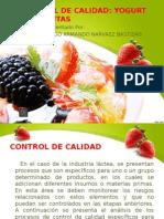 Control de Calidad Del Yogurt 1