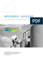 WPX Energy Long - Jonathan Chang
