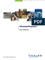Mobile Mapper User Manuel