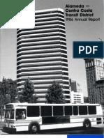AC Transit Annual Report 1985-1986
