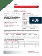 High Tensile Steel 4140