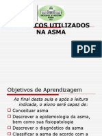 aula FÁRMACOS UTILIZADOS NA ASMA.ppt