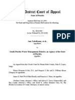 Teitlebaum v. South Florida Water Mgmt District, No. 3D14-0963 (Fla. App. June 24, 2015)