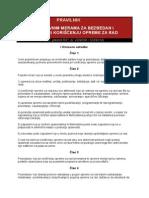 04 Pravilnik o Preventivnim Merama Za Bezbedan i Zdrav Rad Pri Koriscenju Opreme Za Rad