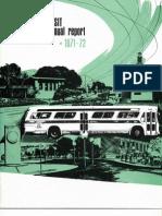 AC Transit Annual Report 1971-1972