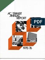 AC Transit Annual Report 1975-1976