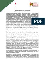 Compromiso de Caracas. acuerdos