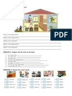 Rooms in the House Worksheet 3