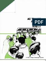 AC Transit Annual Report 1976-1977