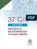 Proyecto Estrategia Plazo Medio Unesco