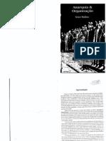 N. Makhno Anarquia e Organização