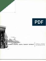 AC Transit Annual Report 1960-1961