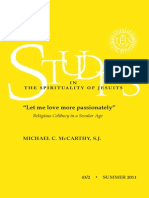 "McCarthy, Michel C., SJ. ""Let me love more passionately:"" Religious Celibacy in a Secular Age."