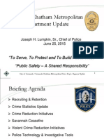 SCMPD City Council Briefing