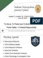 SCMPD City Council Briefing