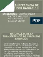Transferencia de Calor Por Radiacion Laza