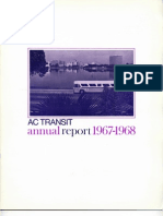 AC Transit Annual Report 1967-1968