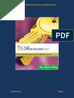 Pasos Para Crear Una Base de Datos Utilizando Access 2007