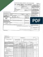 Clinton Financial Disclosure