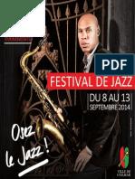 Festival Jazz Programme