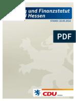 Satzung der CDU Hessen 2014