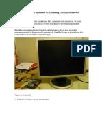 Como Reparar Un Monitor LCD Samsung LCD SyncMaster740N