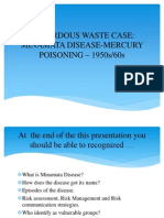 Hazardous Waste Case - Minamata Disease-mercury Poisoning – 1950s-60s