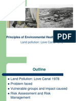 Land Pollution Case - Love Canal 1978