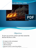 Environmental Health Case - Kuwait Oil Fire 1991