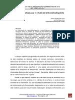 Actividades Educativas Para El Estudio de La Gramática Española