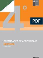 ESTANDARES DE APRENDIZAJE 4° BÁSICO LENGUAJE 20134