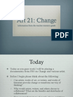 art21 change